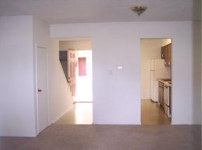 2 bedroom/ 1 bath town